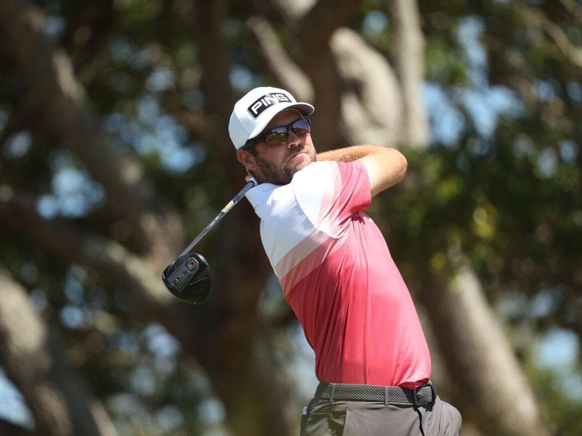 Corey Conners keeps it as stress-free as possible for PGA Championship lead