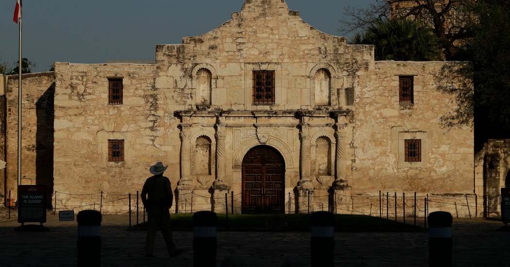 Heroes or Enslavers? Texas Eyes Laws to Shield Its Founders From Scorn