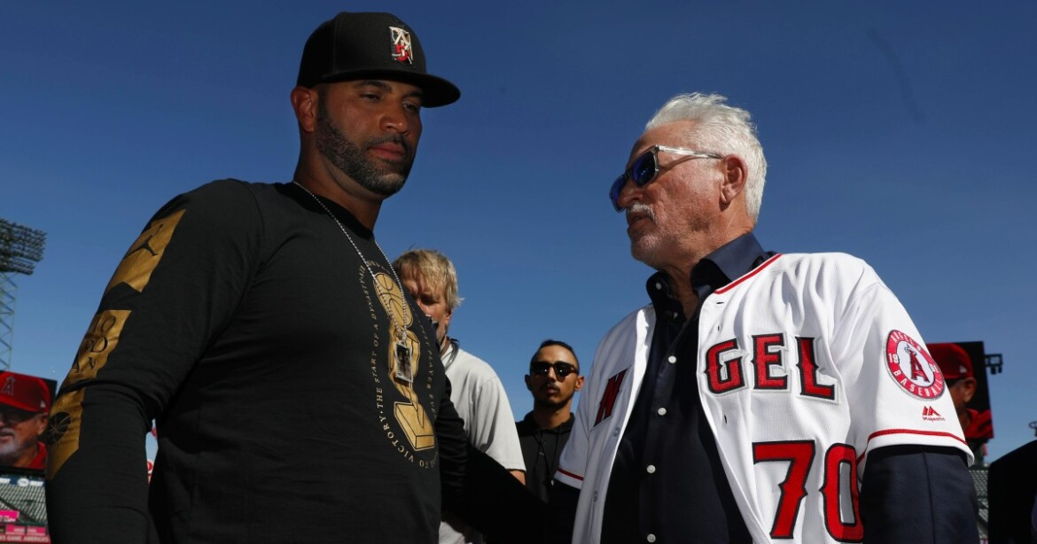 'I don't mean for this to sound cold': Joe Maddon expands on release of Albert Pujols