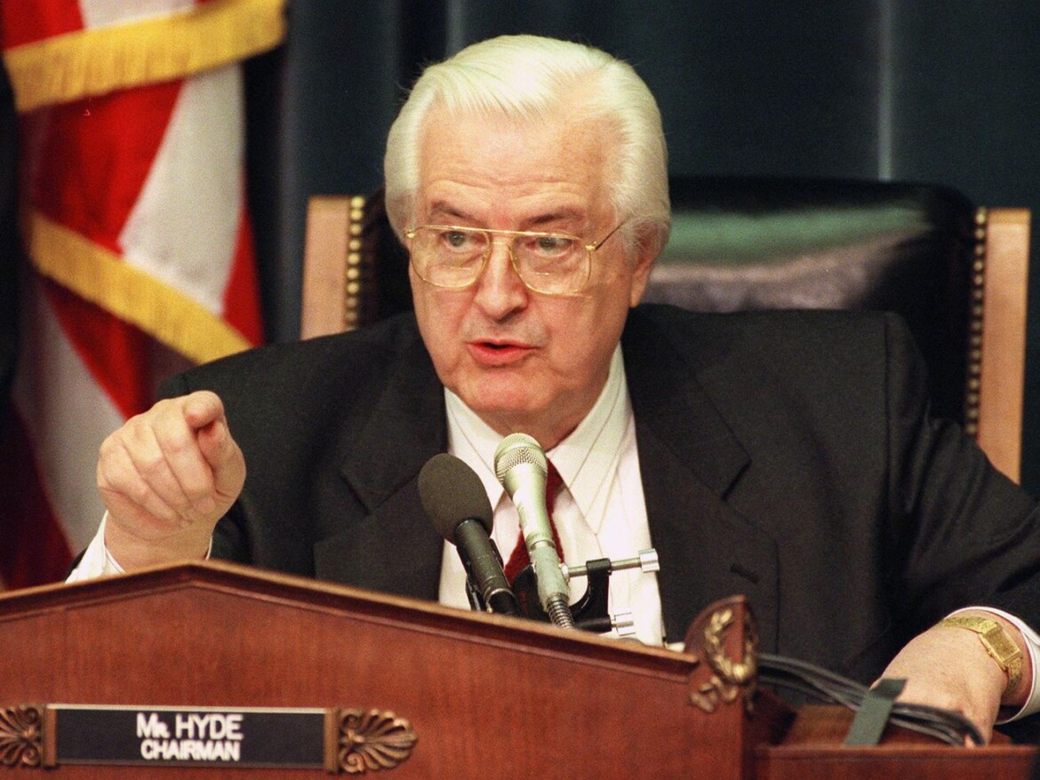 President Biden dumped the anti-abortion Hyde Amendment from his budget: Who was Illinois GOP Rep. Henry Hyde?