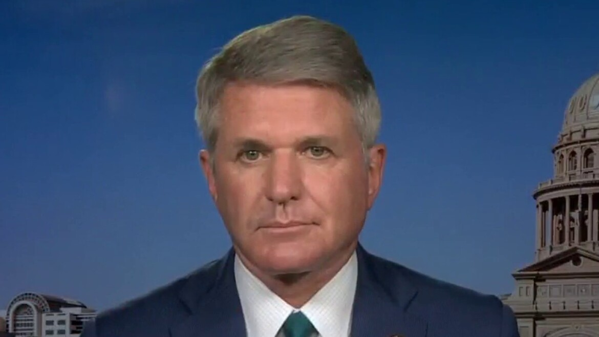 Rep. McCaul calls COVID-19 origin 'the worst cover-up in human history'