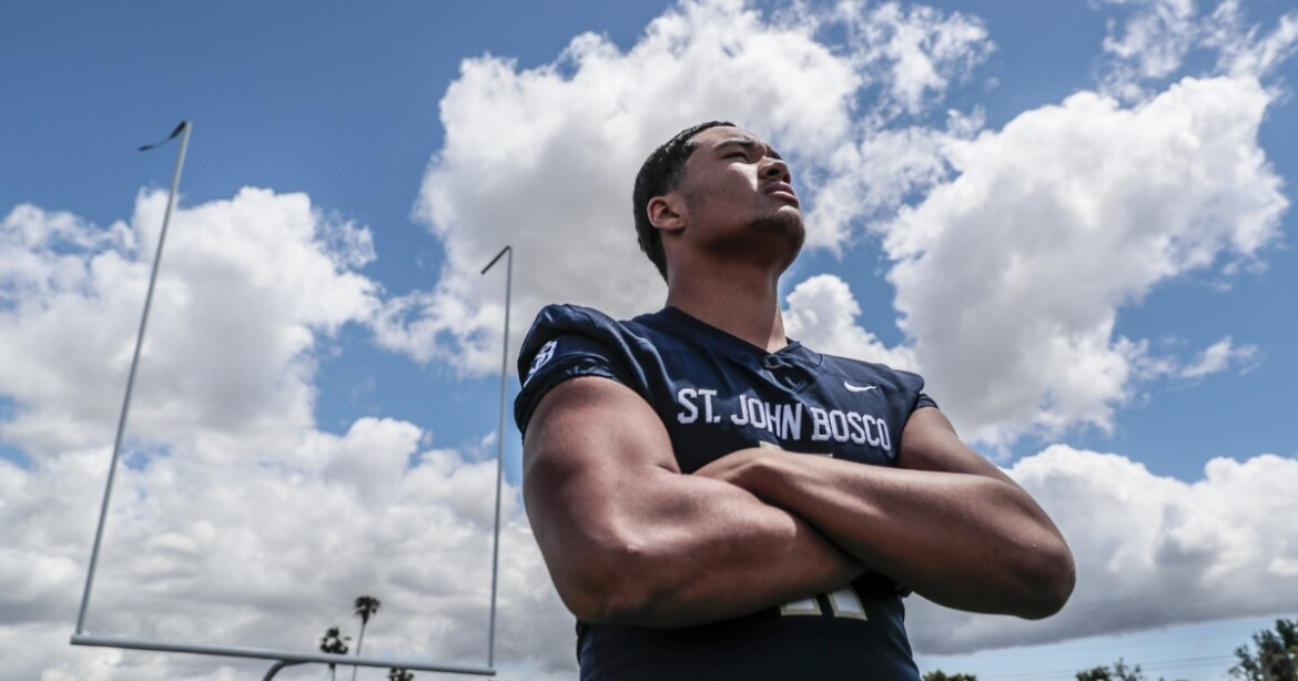 L.A. Times All-Star football team: Player of the Year