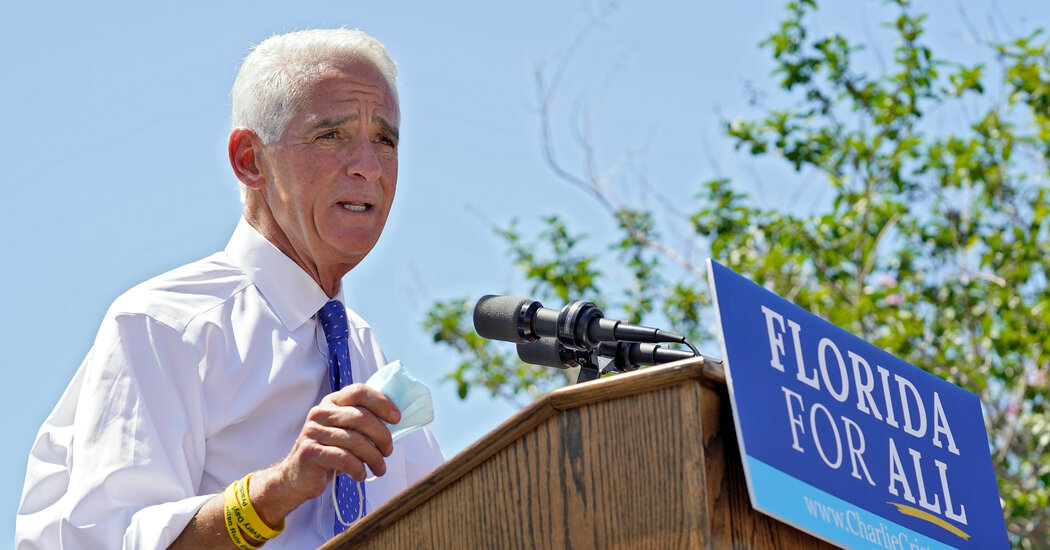 Crist Will Face DeSantis in Florida, With More Democrats Likely to Follow