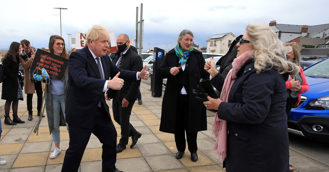 U.K. Vote Is Likely to Back Boris Johnson, and an Independent Scotland
