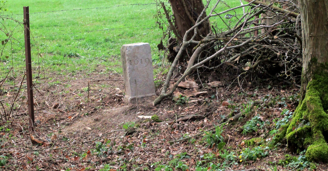 A Farmer Moved a 200-Year-Old Stone, and the French-Belgian Border