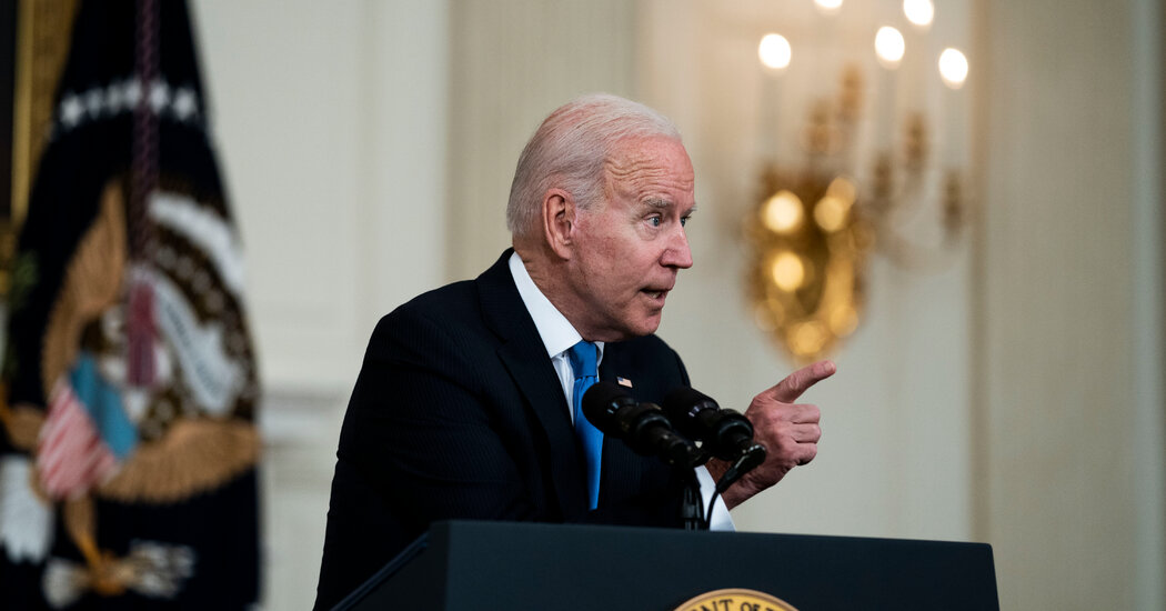 Biden Leans Into Plans to Tax the Rich