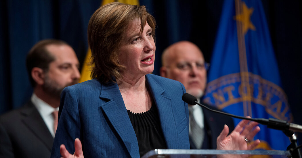 Nancy Messonnier, C.D,C. Official  Who Warned U.S. Early of Virus, Resigns