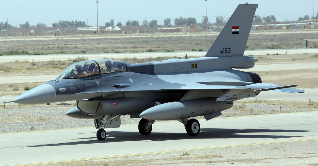 Iraq's F-16s Grounded After Lockheed Martin Withdraws Crews