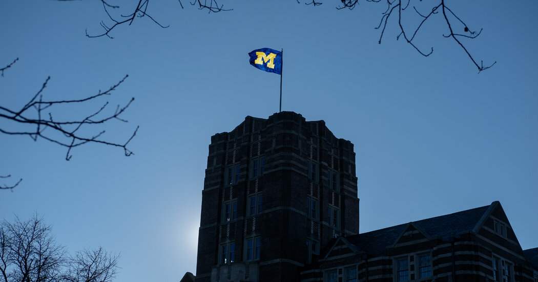Michigan Ignored Warnings of Doctor Abusing Athletes, Report Says