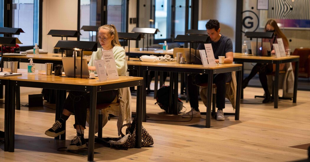 WeWork's CEO: 'Least Engaged' Employees Work From Home
