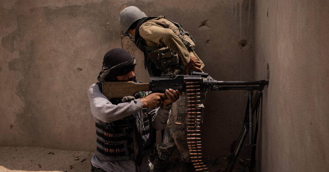 A City Under Siege: What the War Looks Like on Afghanistan's Front Line