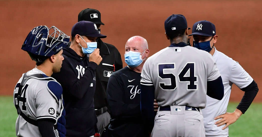 Yankees' Covid Case Count Rises to Seven