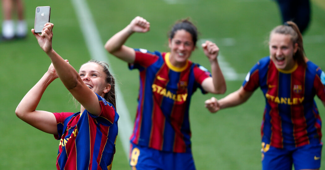 A Barcelona Star on Style, Substance and Another Champions League Final