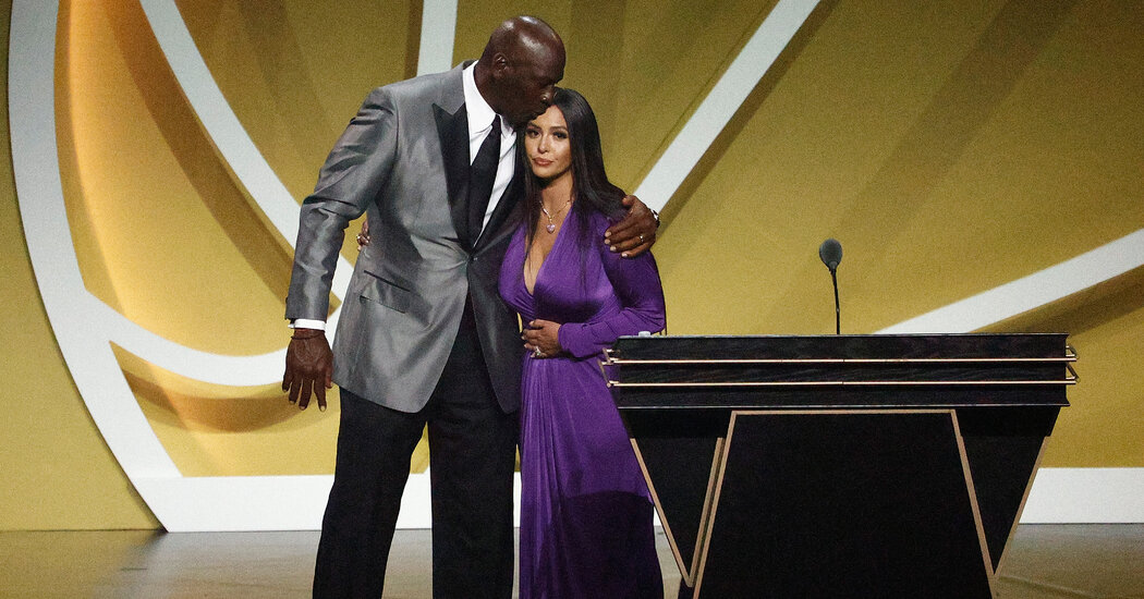 Vanessa Bryant Delivers Emotional Hall of Fame Speech for Kobe