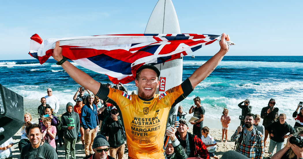 Surfing for the United States, but Representing Hawaii