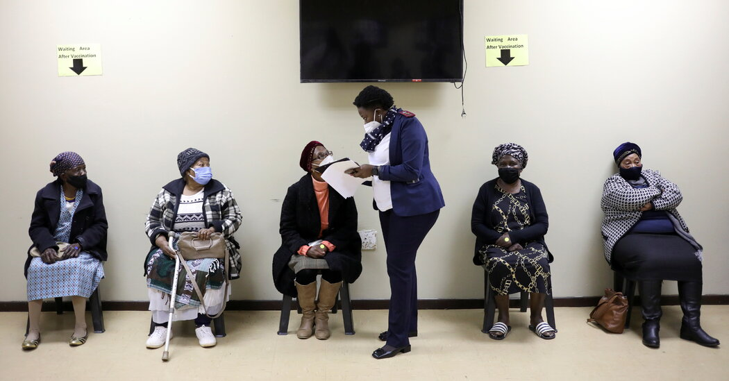 South Africa Vaccine Rollout Expands to People 60 and Older