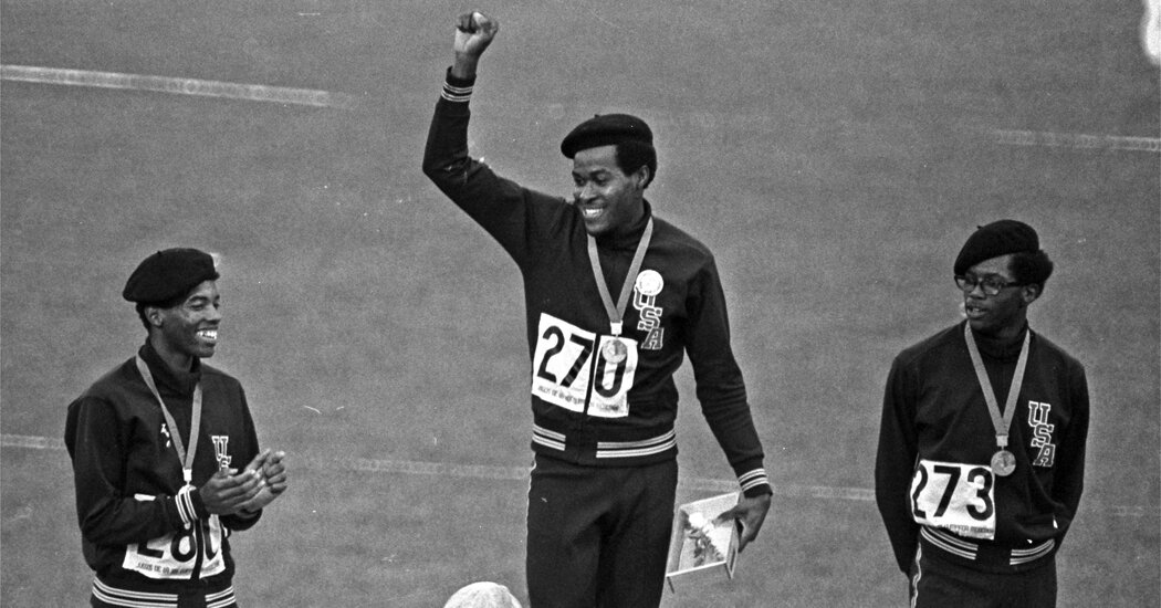 Lee Evans, Olympic Runner Who Protested Racism, Dies at 74