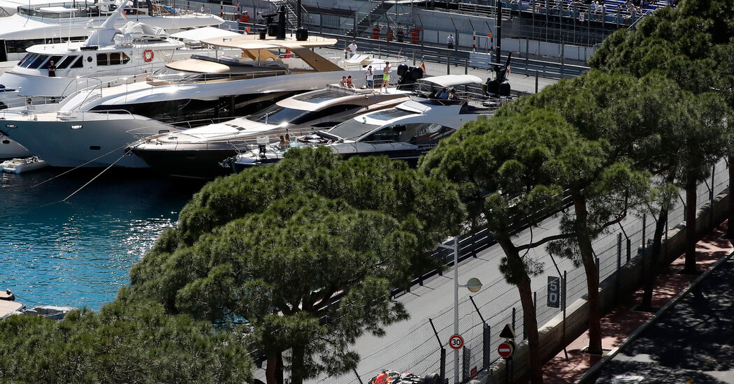 At the Monaco Grand Prix, a Toned-Down Weekend