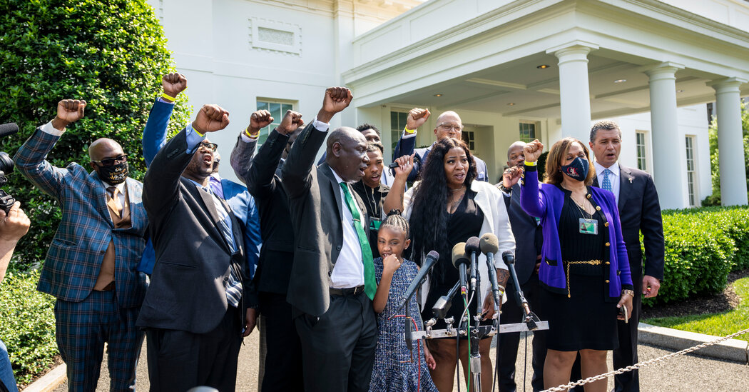George Floyd's Family Meets With Biden Amid Push for Police Reform