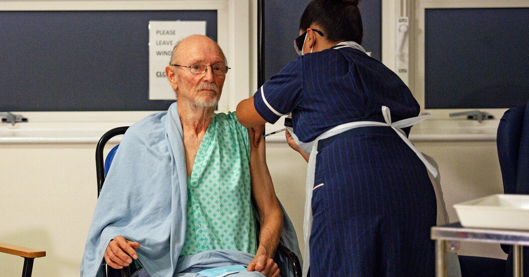 The First Man in Britain to Receive an Approved Covid-19 Vaccine, Dies at 81