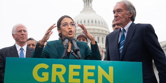 AOC's rise in power led 'anxious' Pelosi to try to derail Green New Deal, book says