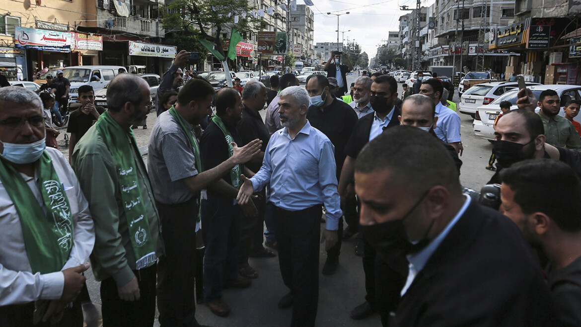 LIVE UPDATES: Hamas holds defiant military parade, top leader appears
