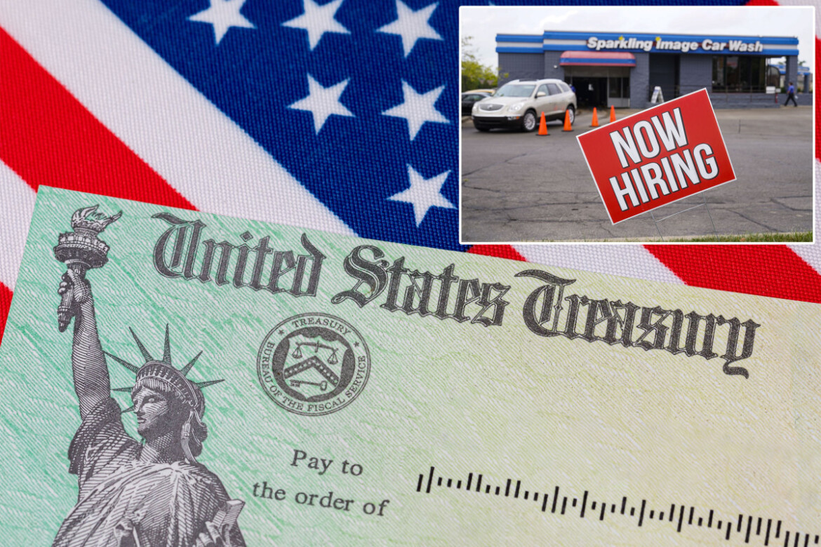 Unemployment checks are  shrinking fast in nearly half of US states