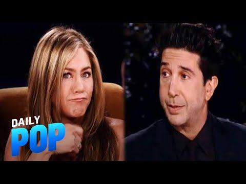"""Jennifer Aniston & David Schwimmer Crushed """"Hard"""" on Each Other 