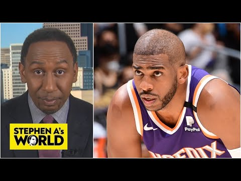 Stephen A. says the Lakers are lucky that Chris Paul is hurt   Stephen A's World