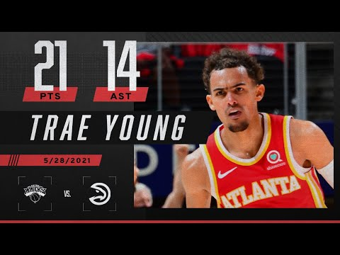 Trae Young's 21 PTS & 14 AST lead Hawks to Game 3 win vs. Knicks ‼️