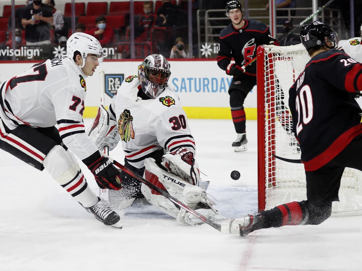 Blackhawks lose to Hurricanes, mathematically eliminated from playoff contention