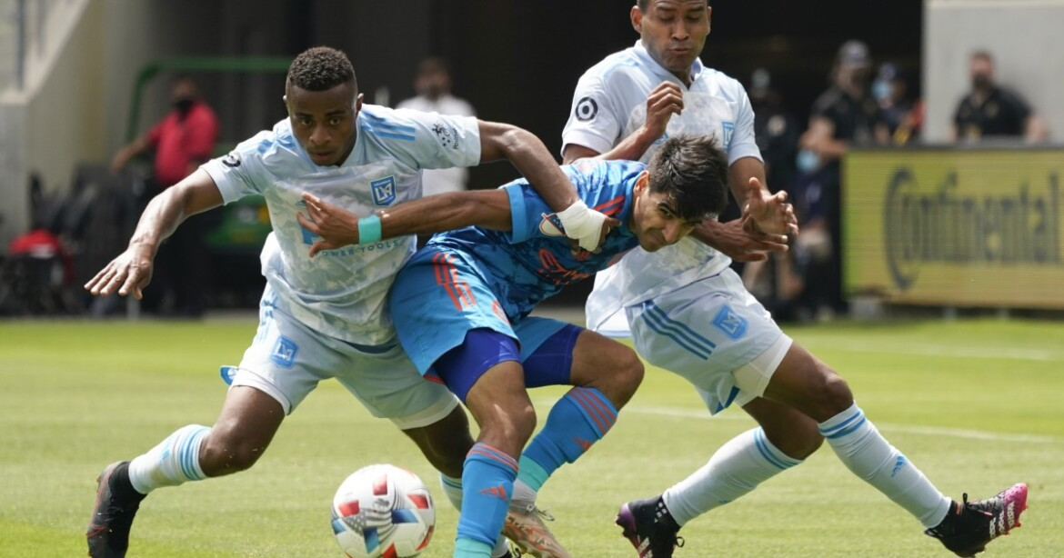 LAFC can't hold off late NYCFC rally, falls at home