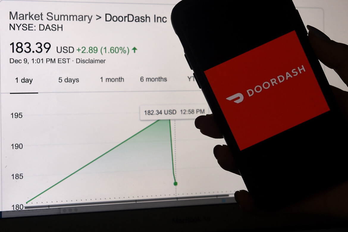 DoorDash shares surge 15 percent on surprisingly strong sales