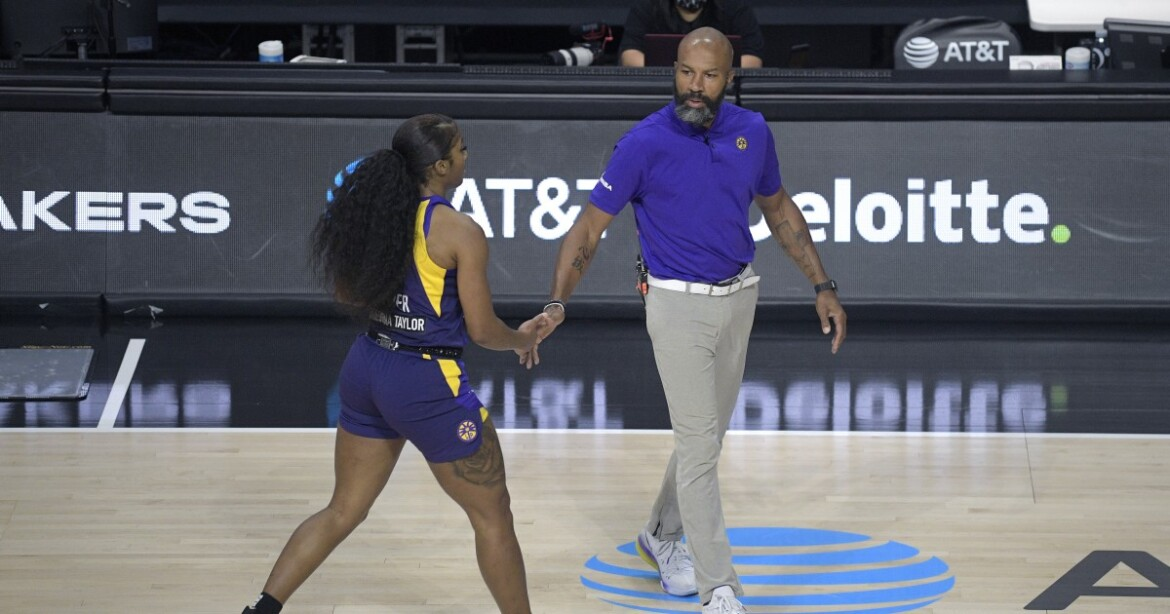 Jasmine Walker, Nia Coffey make final pitches in preseason finale to make Sparks' roster