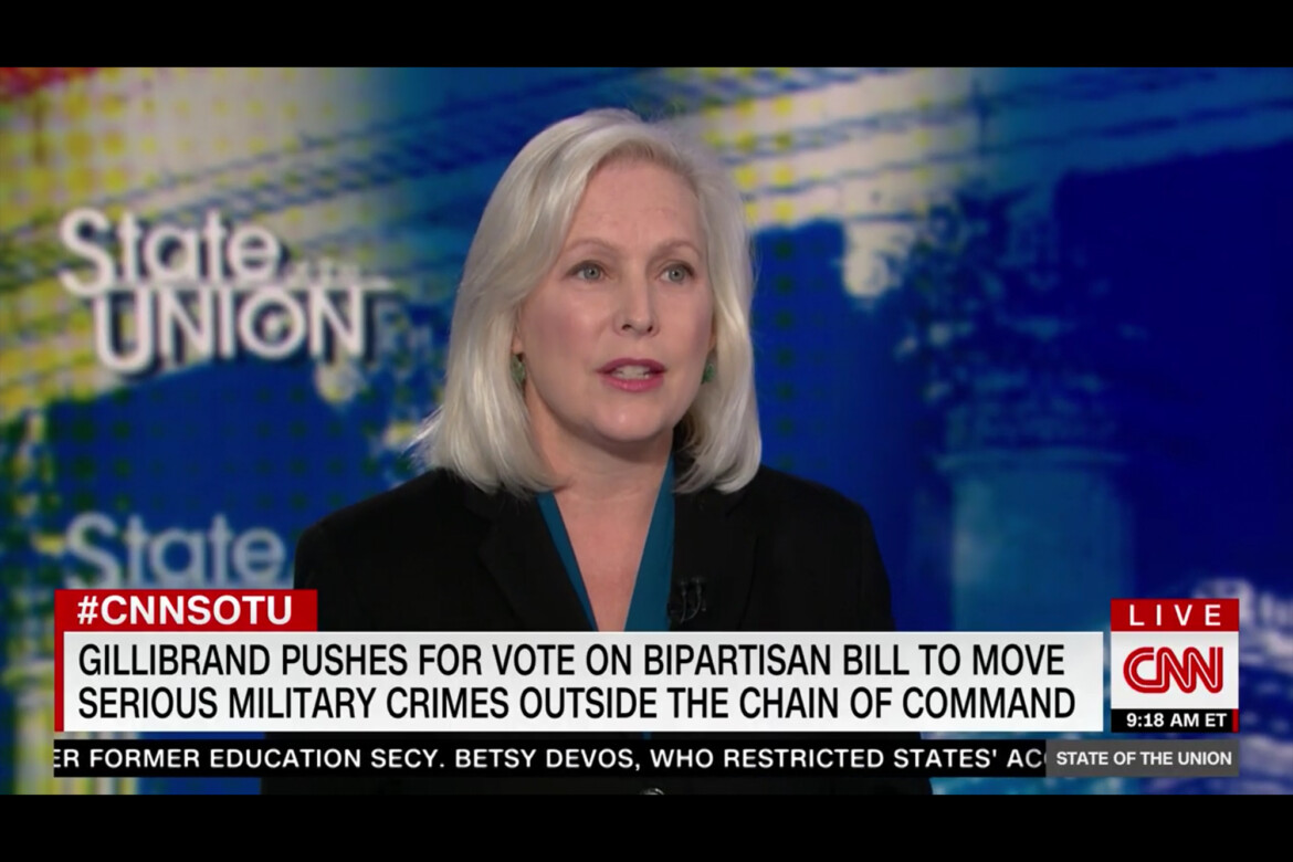 Gillibrand Calls on Schumer to Bring Bipartisan Military Sexual Assault Bill to Floor