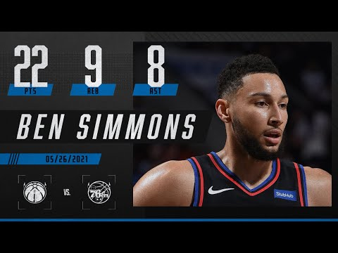 Ben Simmons puts up near-triple-double in 76ers' Game 2 blowout 🔥 | 2021 NBA Playoffs