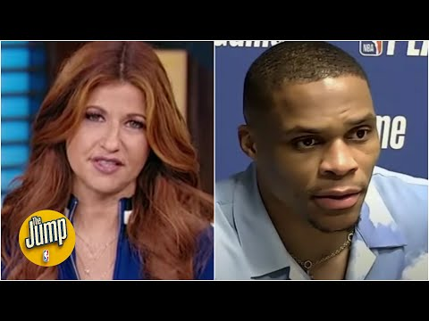 Rachel Nichols addresses Russell Westbrook popcorn incident and fan behavior in the NBA | The Jump