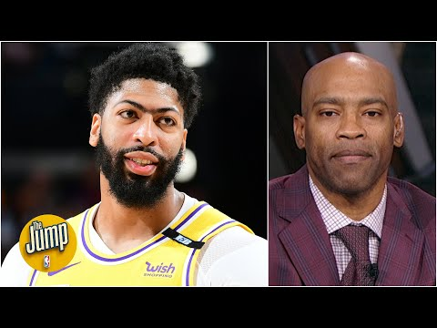 Vince Carter describes how Anthony Davis beat the double team in Game 2 | The Jump