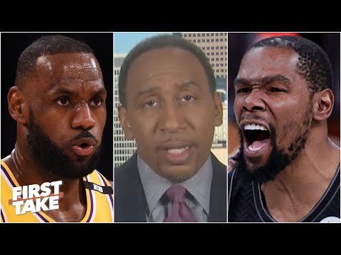 Stephen A. says Kevin Durant is standing in the way of the Lakers' chances to repeat   First Take