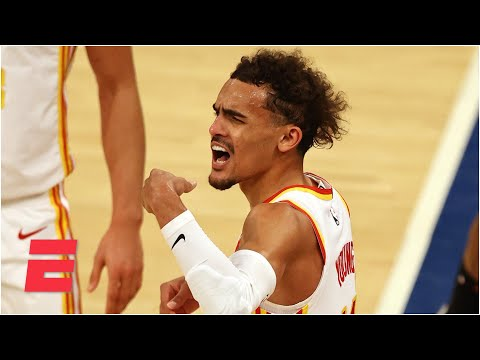 Trae Young's father addresses spitting incident with Knicks fan at MSG   KJZ