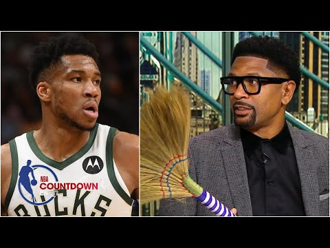 Jalen Rose is extremely impressed by the Bucks sweeping the Heat   NBA Countdown