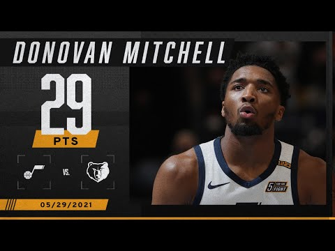 Donovan Mitchell's 29 PTS lead Jazz to Game 3 victory ‼️