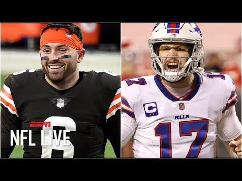 Can the Browns and the Bills become Super Bowl winners?   NFL Live