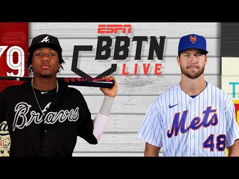 Braves vs. Mets   Should Jacob deGrom be more appreciated?   BBTN Live