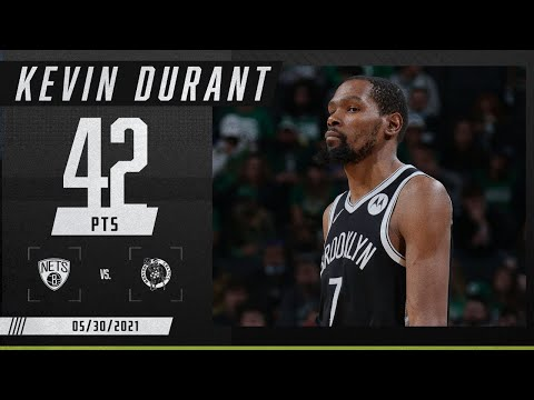 Kevin Durant SCORCHES the Celtics for 42 points in Game 4 ‼️ | 2021 NBA Playoffs