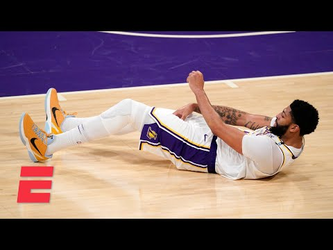 How concerned should the Lakers be about Anthony Davis' injury?   KJZ