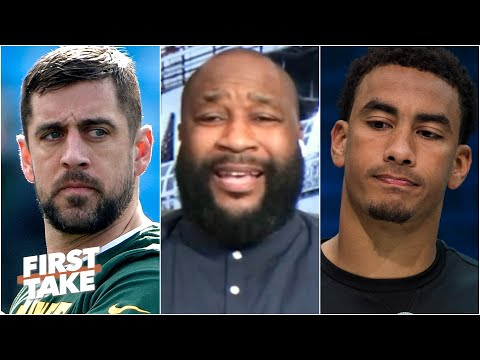 'Aaron Rodgers does not give a damn about Jordan Love!' – Marcus Spears | First Take