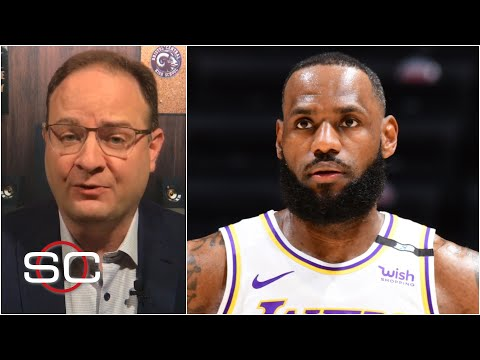 LeBron James out the next two games for Lakers due to ankle discomfort | SportsCenter