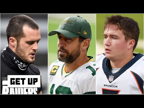 The best Aaron Rodgers trade scenarios for the Broncos and Raiders | Get Up