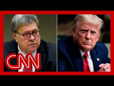 Judge orders Bill Barr's secret Trump memo to be released